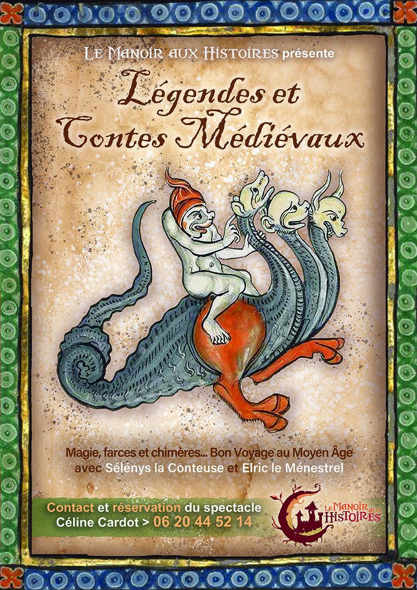 Affiche legendes et contes medievaux de nos regions opti